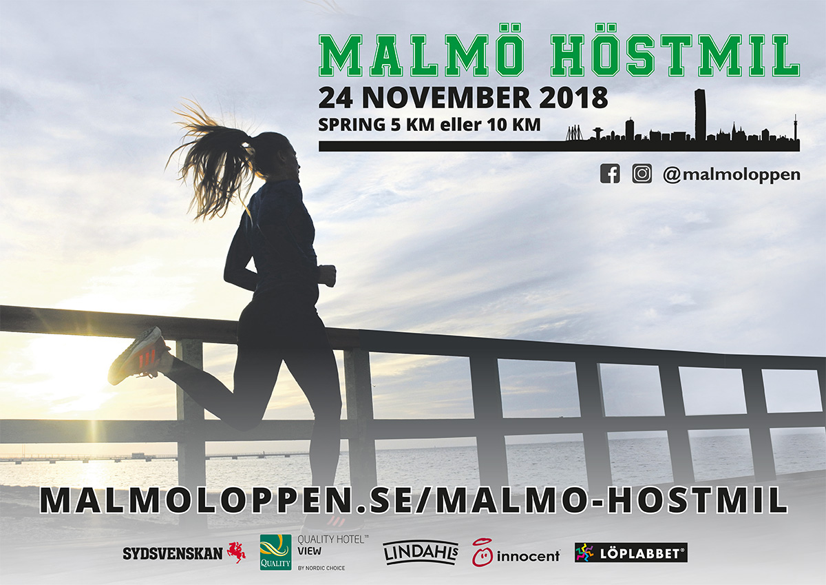 Banner Malmö Höstmil 2018